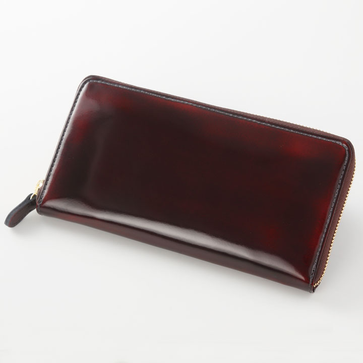 ラウンドファスナー長財布